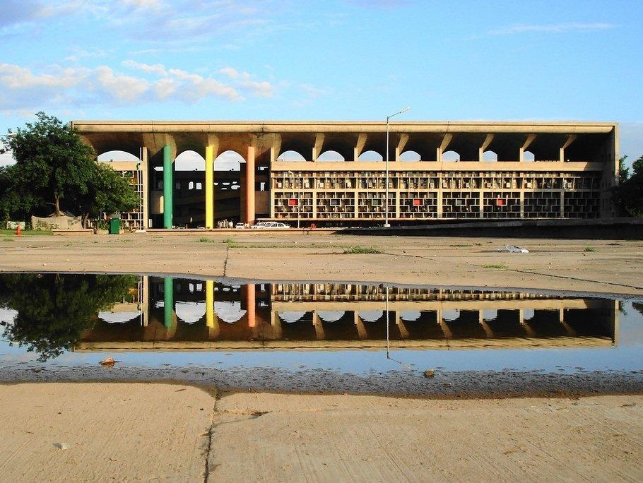 Chandigarh Court (Le Corbusier)