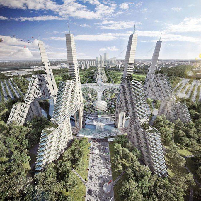 Safdie Architects Expo 2017 (Fuente: designboom.com)