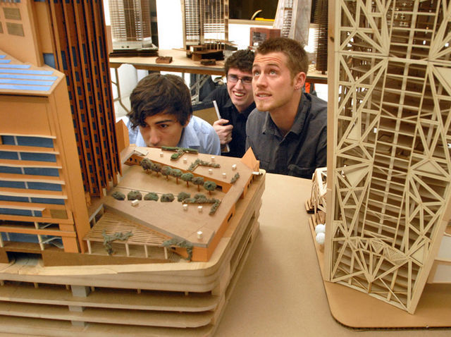 arch students model