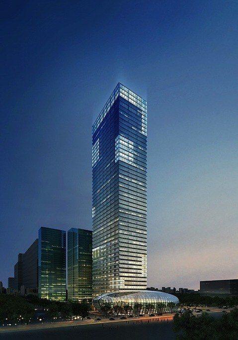 Sede de Industrias Coreanas | Adrian Smith+Gordon Gill (Fot. BEMsite)