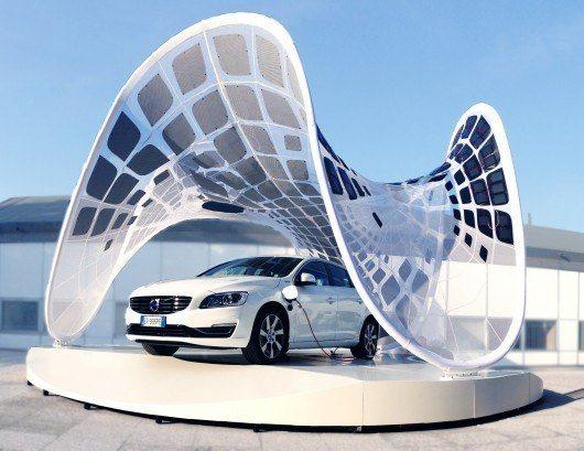 Solar Pavilion (Fot. ArchDaily)