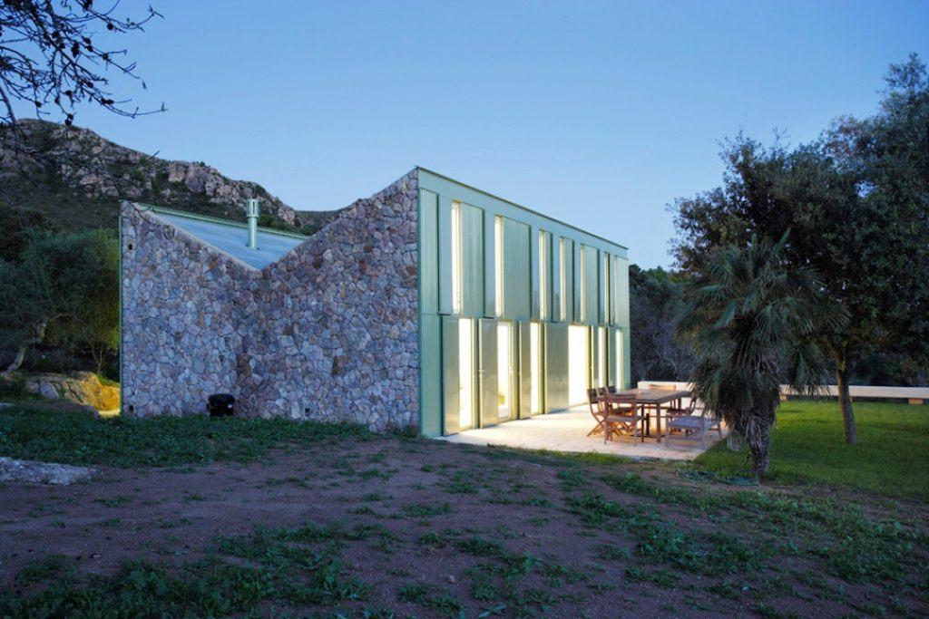 Casa de campo (Fot. Architizer)