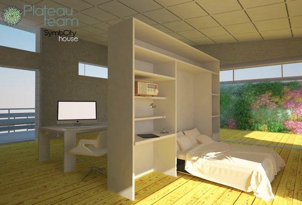Interior vivienda Symbcity