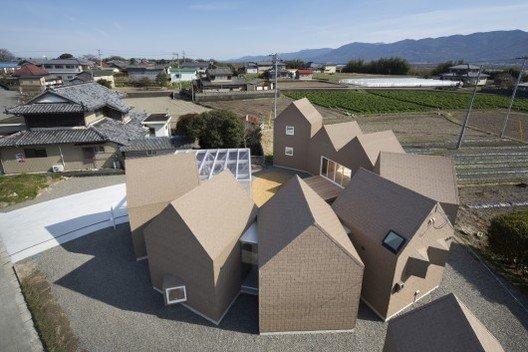 Vivienda japonesa Awacho House