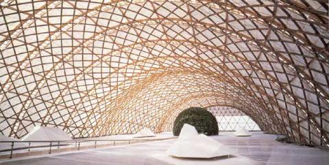 Pabellón en Hannover para la Expo 2000