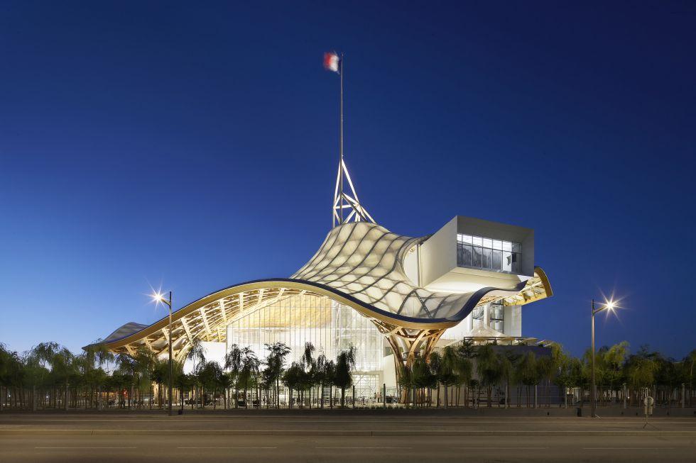 Obra arquitectónica Pompidou