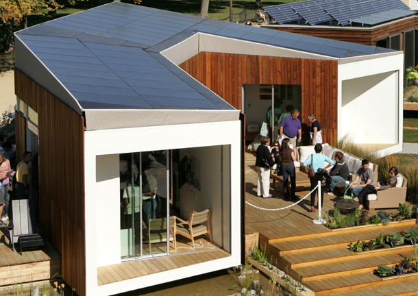 team california house winner in student solar decathlon