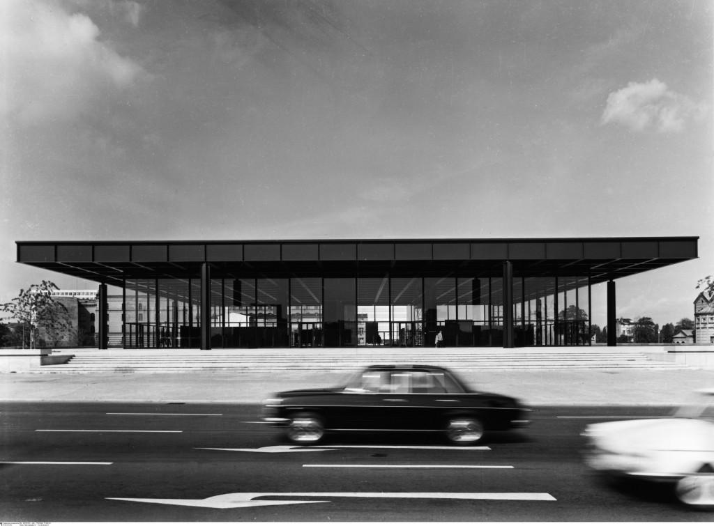 Neue Nationalgalerie Mies1