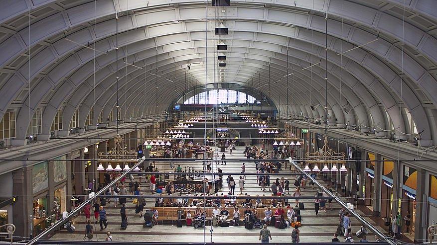 estacion trenes Estocolmo
