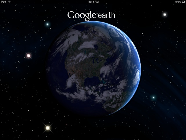 google earth ipad1