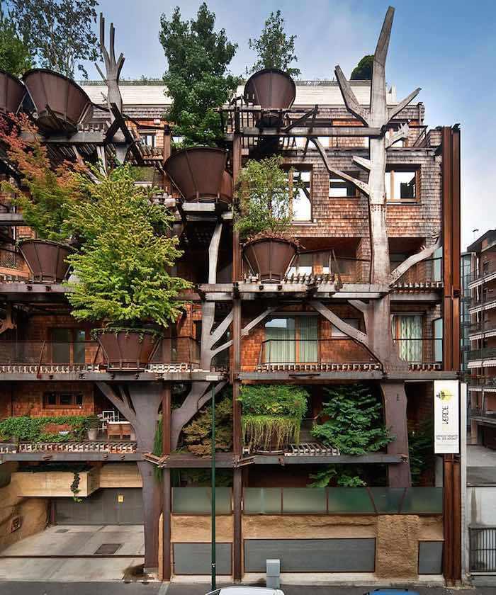 25 Verde fachada