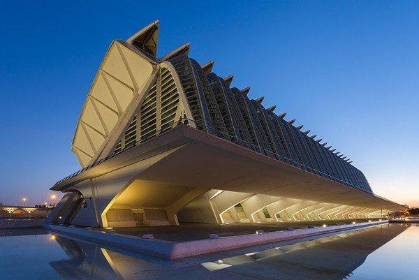 Calatrava Ciudad de las Artes y las Ciencias Imagen de Diego Delso