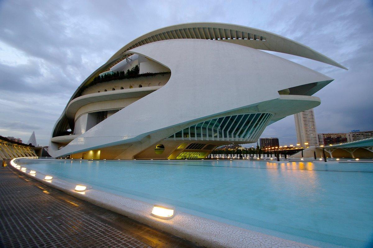 Calatrava Ciudad de las Artes y las Ciencias