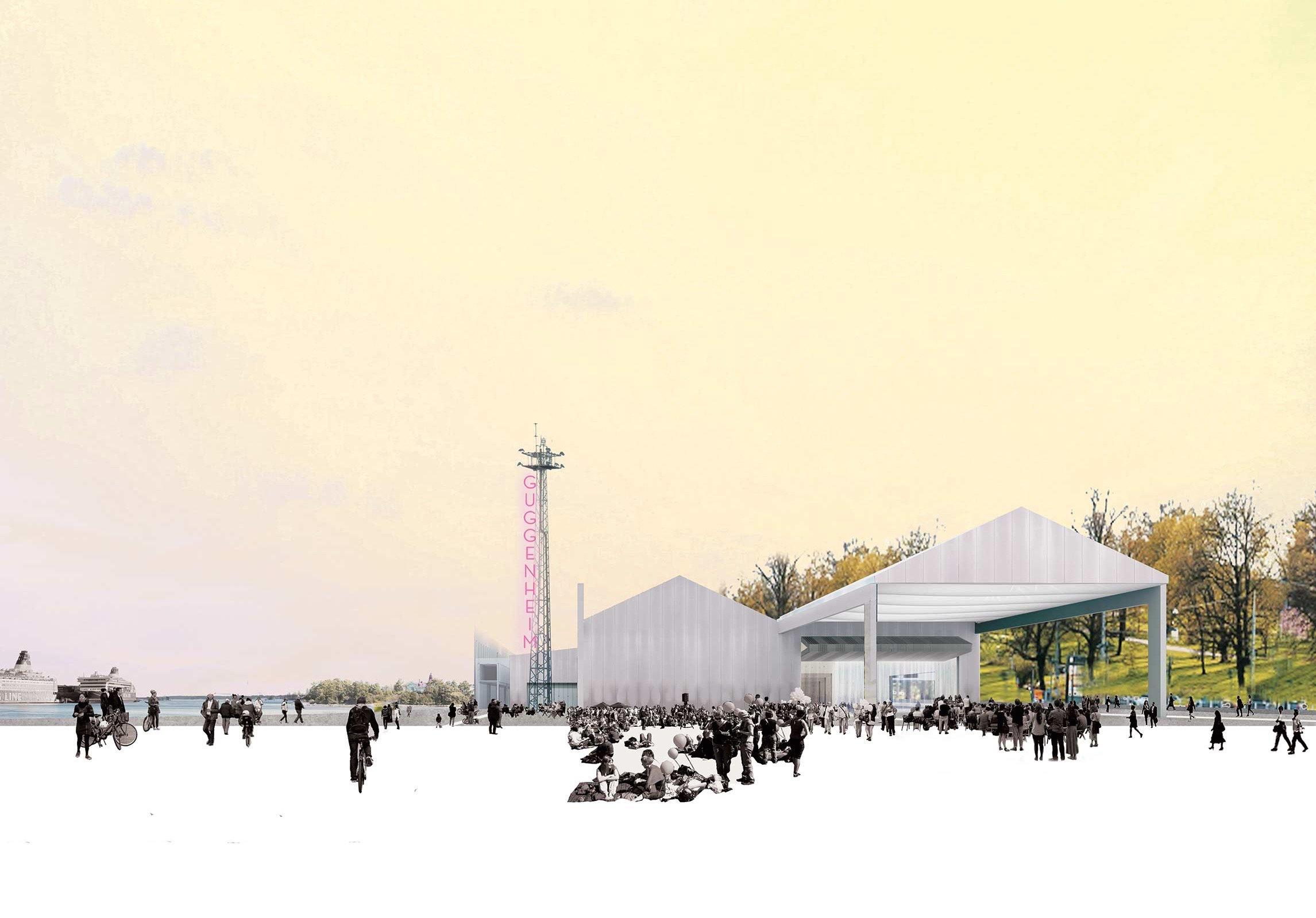 Guggenheim Helsinki finalista 4