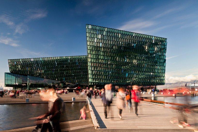 Harpa Sala de conciertos - Henning Larsen (Islancia)