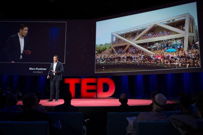 Marc Kushner en la charla TED
