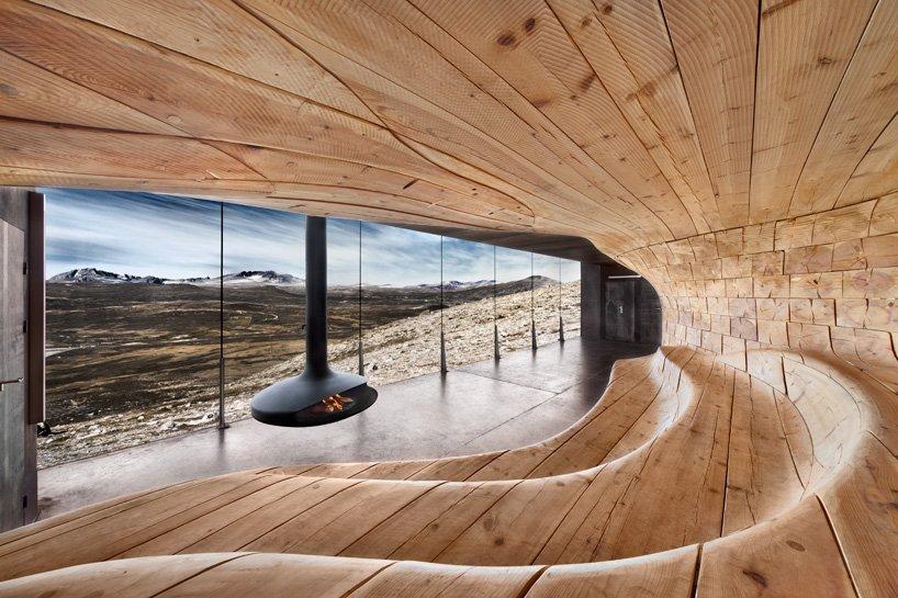 Refugio de montaña Noruega
