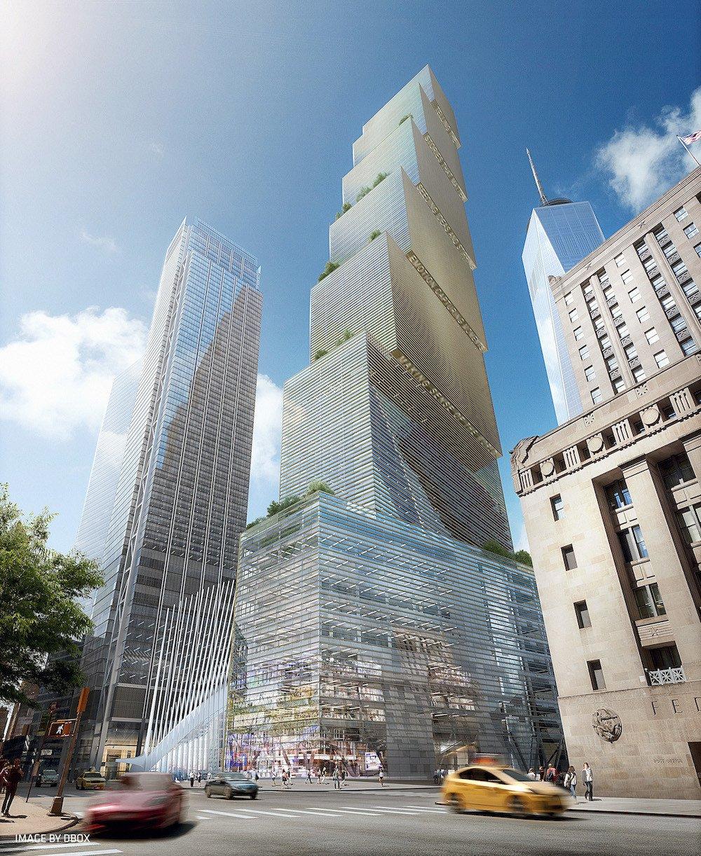 WTC2 World Trade Center BIG calle