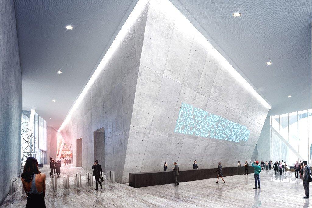 WTC2 World Trade Center BIG lobby