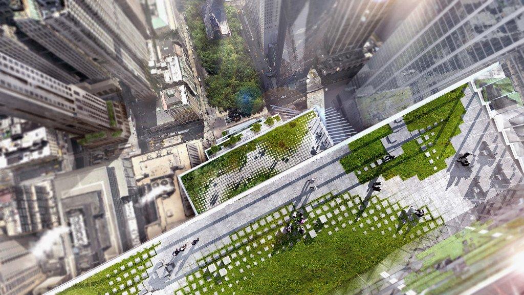 WTC2 World Trade Center BIG terrazas
