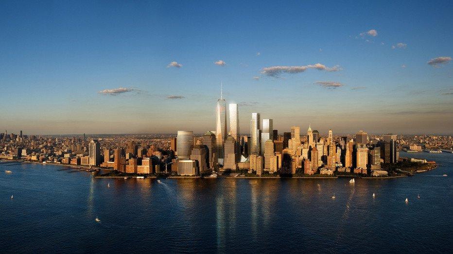 WTC2 World Trade Center BIG vista manhattan