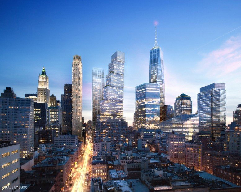 WTC2World Trade Center 2 BIG entorno