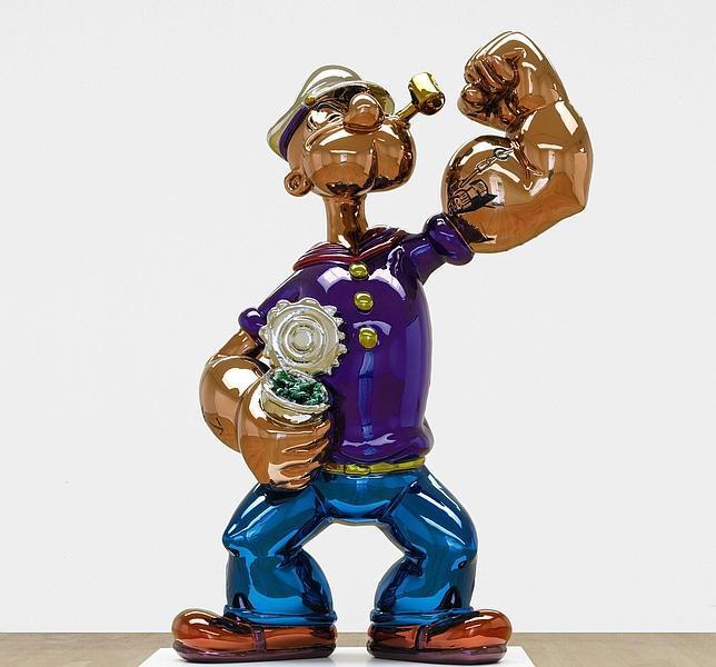 Jeff Koons Popeye