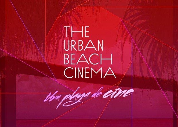 The urban beach cinema