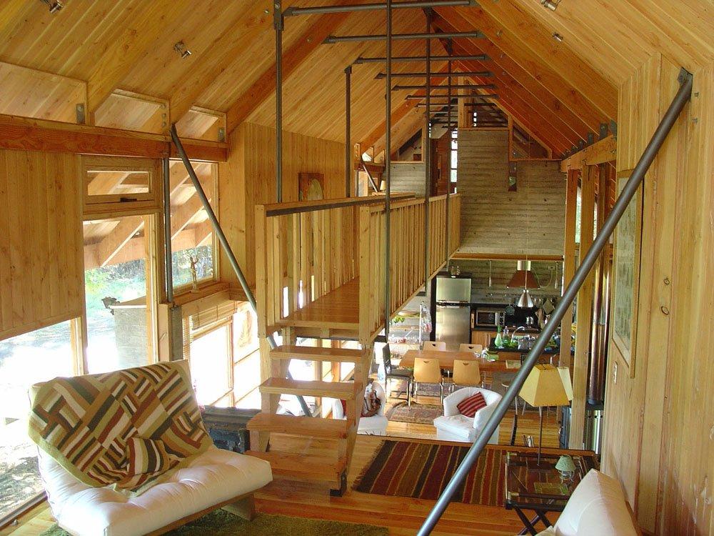 casa de roble madera