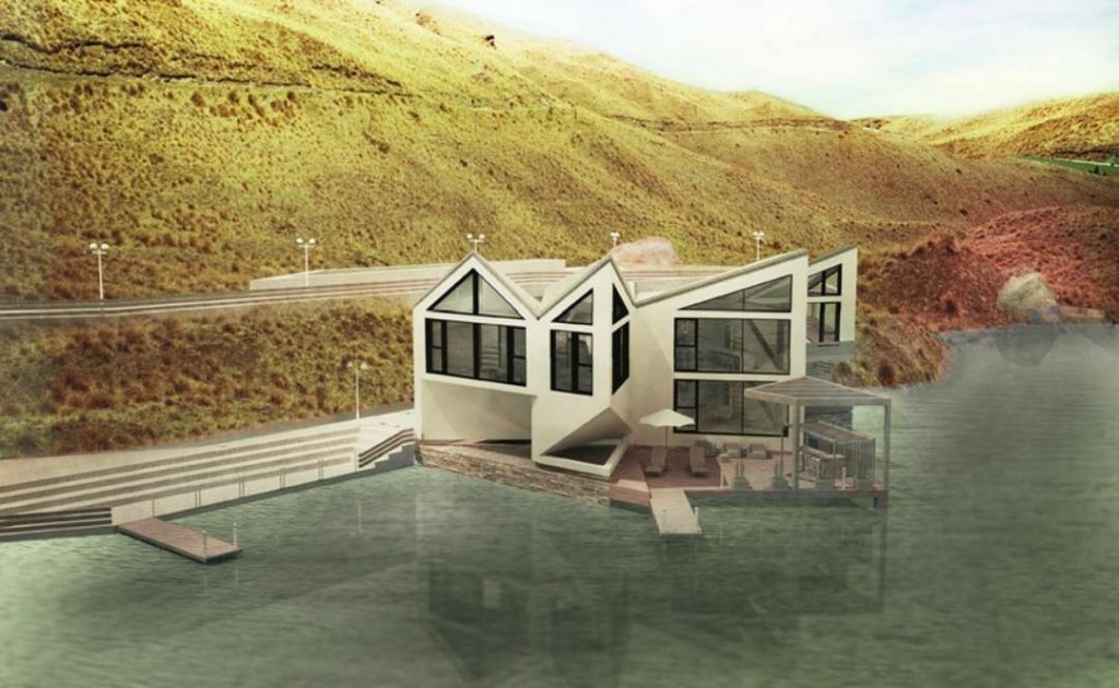 D Dynamic Casa transforma Imagen de Architizer