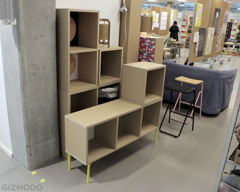 IKEA muebles papel estantería