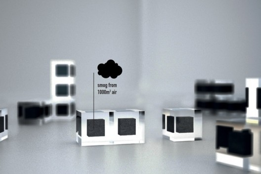 Smog cubes