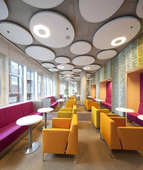 DUO interior cafeteria
