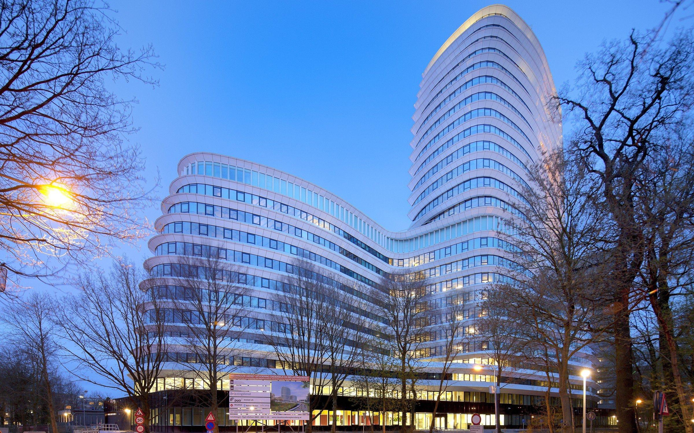 Edificio de la agencia de hacienda holandesa