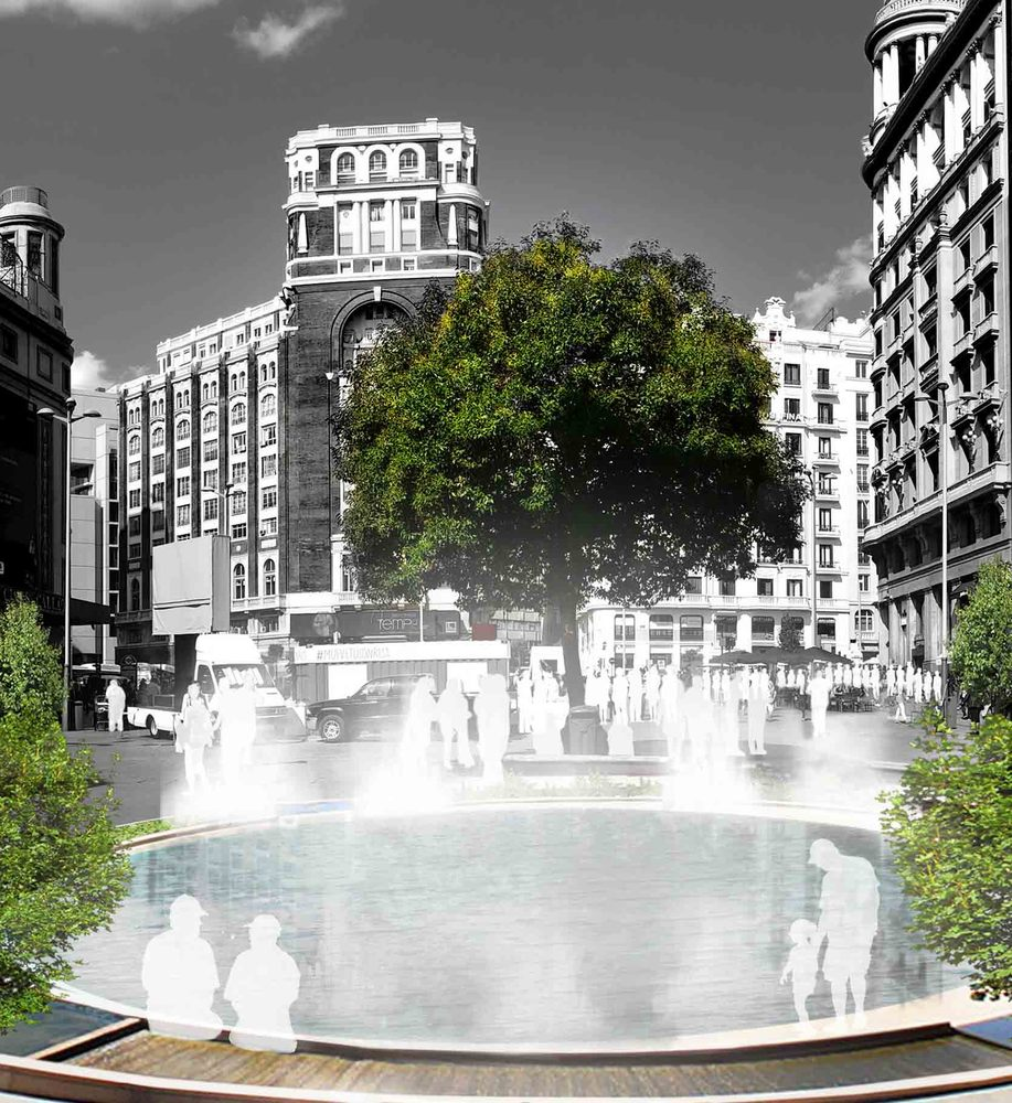 Madrid + Natural agua