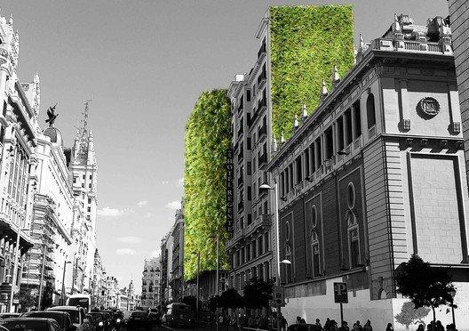 Madrid + Natural jardines verticales