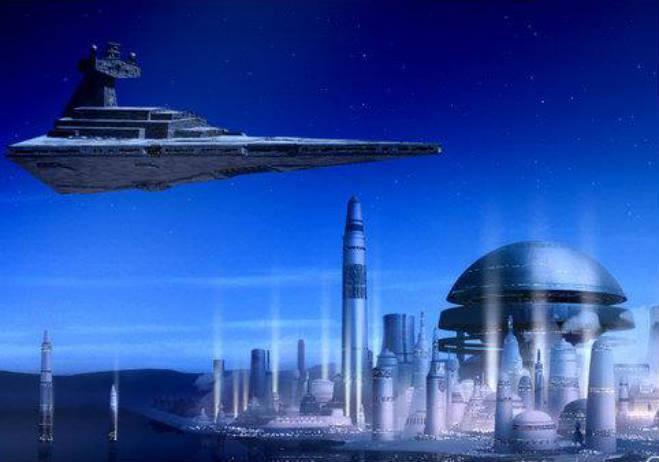 Star Wars McQuarrie ciudad