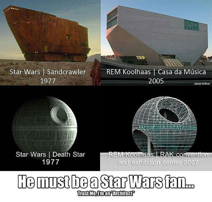 Star Wars Rem Koolhaas