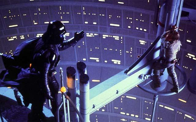Star Wars escena