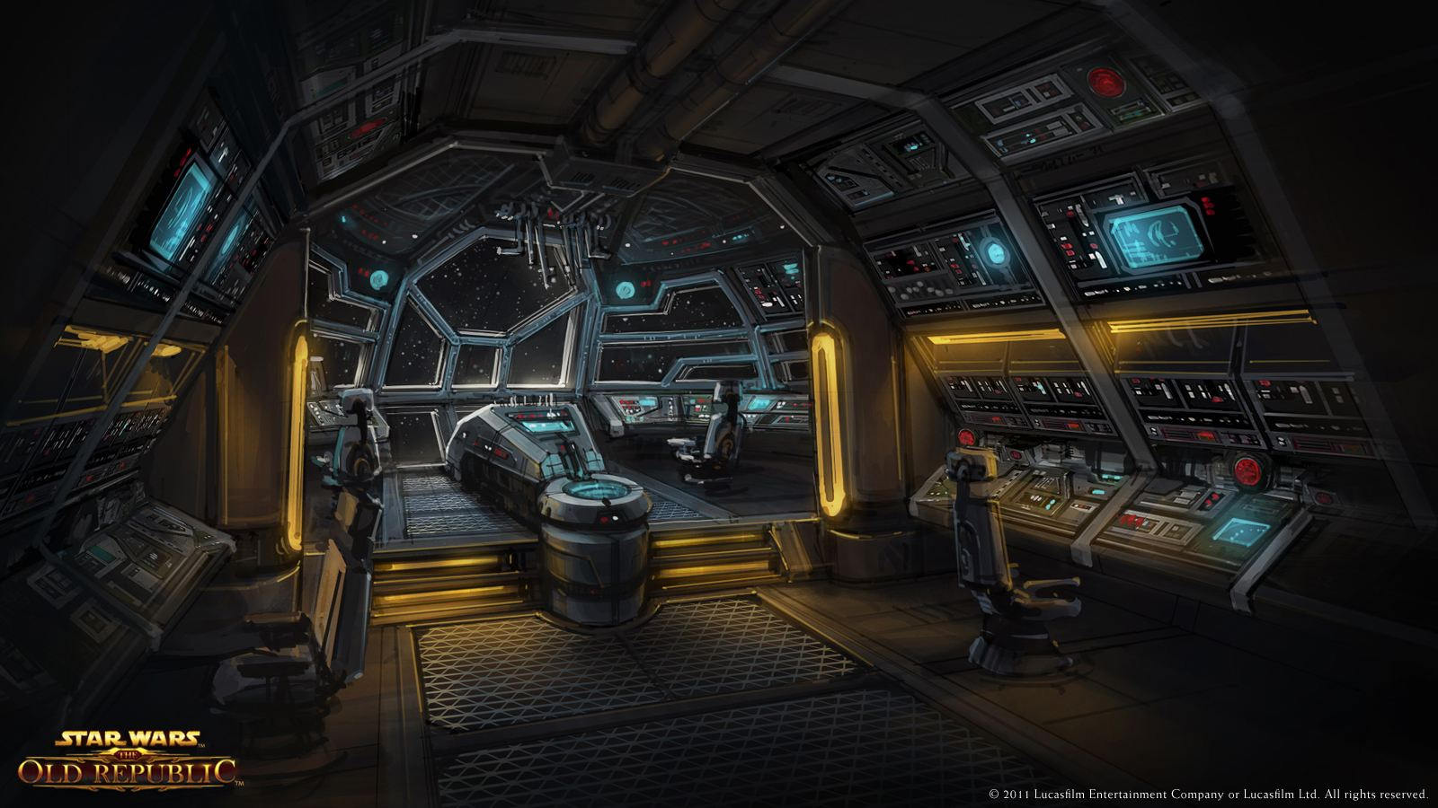 Star Wars interior nave