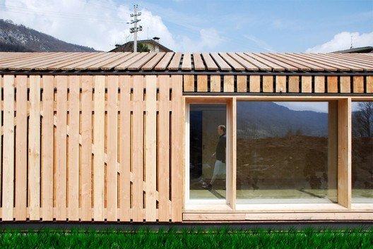 Lineal house fachada
