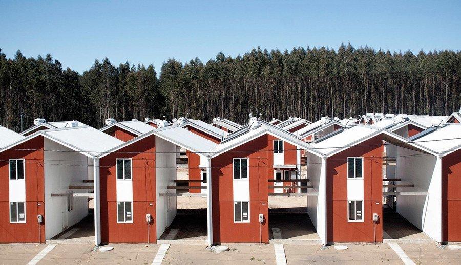 Vivienda social por arquitecto responsable aravena