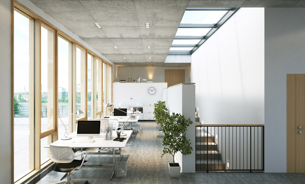 Interior de oficina