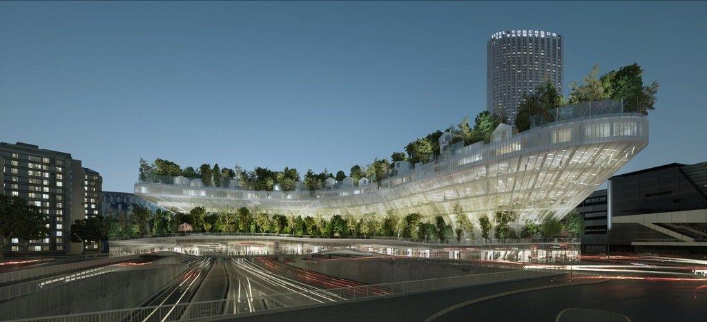 Fujimoto diseña edificio simbolico paris