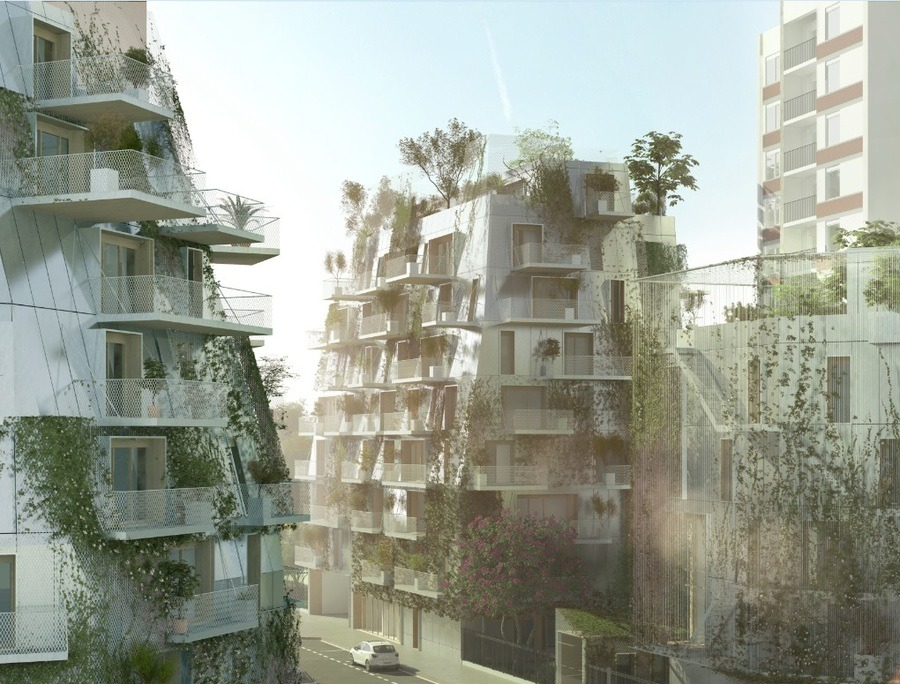 Edificio sostenible paris futuro
