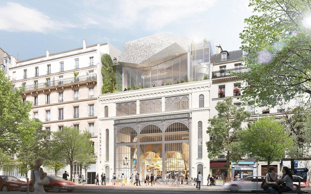 cine en rehabilitacion historica en paris