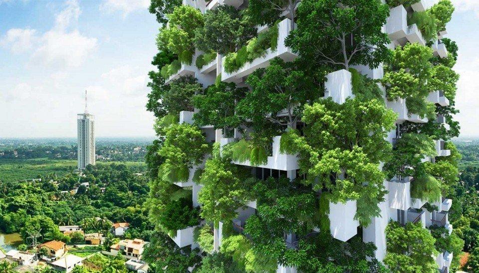 Arquitectura verde irreal (Imagen de veoverde)