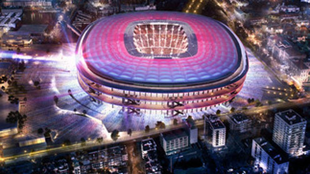 El proyecto de Nikken Sekkei para el nou camp