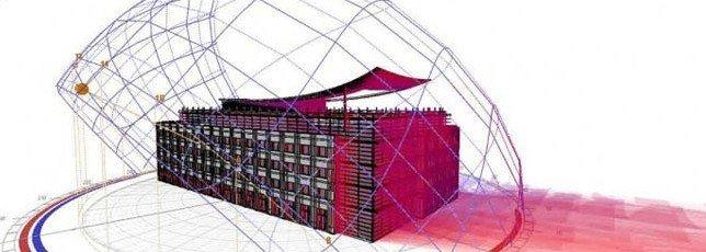 Software de simulación energetica de edificios (Imagen de green modeling)