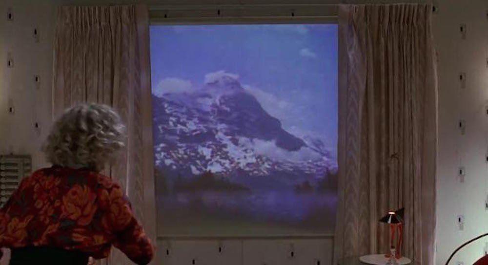 Las ventanas del futuro. Ventana sustituida por pantalla LED. Imagen de techinsider